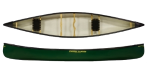 Enigma Canoes Prospector 16 Open Canadian Canoe Green Colour Choice
