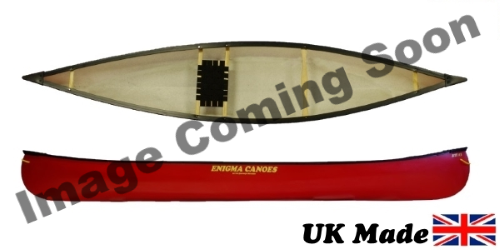 Enigma Canoes Turing 17 Open Canoe Perfect For Families Wanting To Get On The Water Colour Red